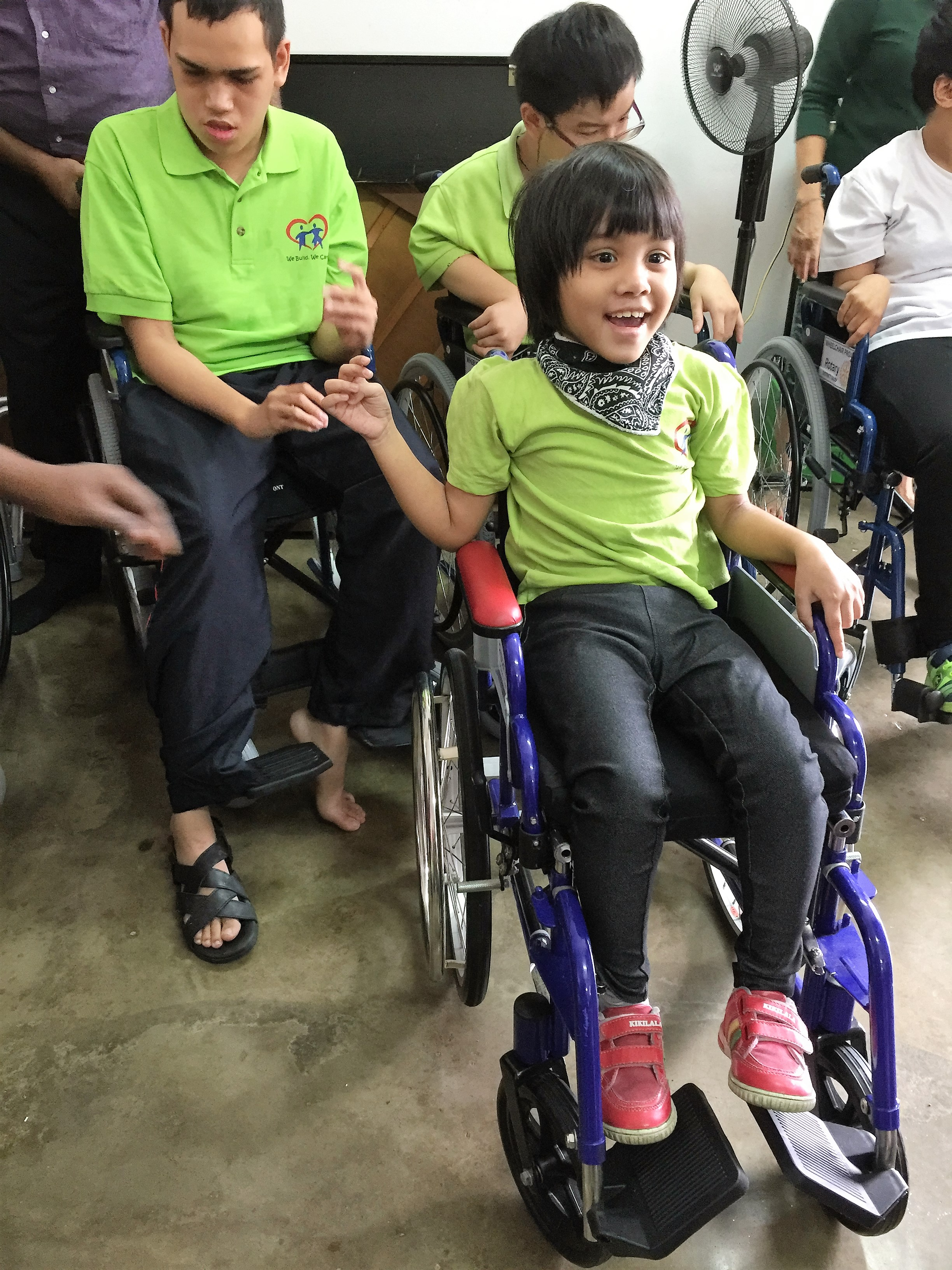 Special Needs Kids In Wheelchairs Wheelchairs Donated fo...